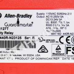 Allen Bradley Safety Contactor Wiring Diagram Canine Muscle Anatomy 440r N23125 B 2016 Relay Msr127tp