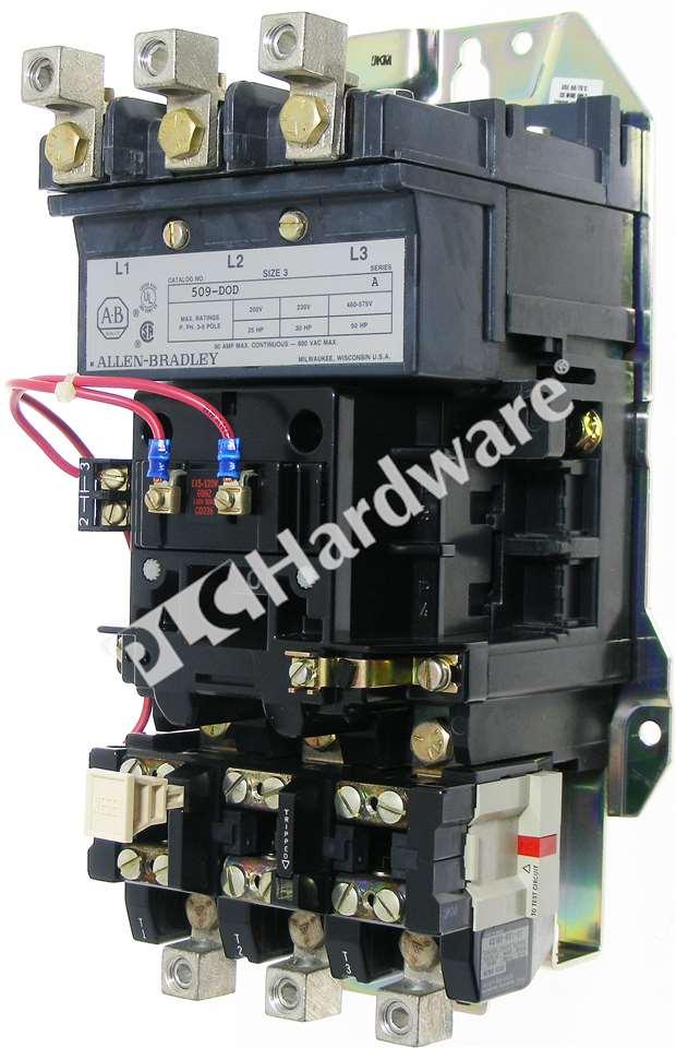 Industrial Control Bulletin 509 Full Voltage