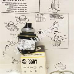 Allen Bradley Hand Off Auto Wiring Diagram Simplicity Sunstar 20 Plc Hardware - 800t-u24 Series P, New Surplus Open