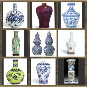 Ming to Qing Chinese vases