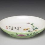 Qianlong inscribed plate