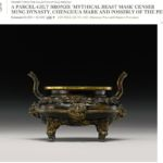 Chenghua ming bronze incense burner
