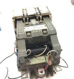 used good condition ingersoll rand 39118187 contactor 300amp starter b368 1 [ 1199 x 1599 Pixel ]