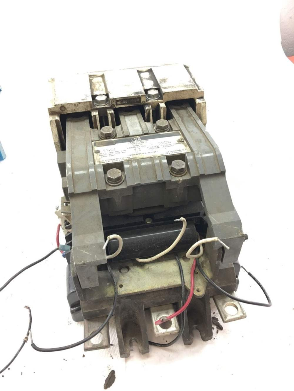 medium resolution of used good condition ingersoll rand 39118187 contactor 300amp starter b368 1