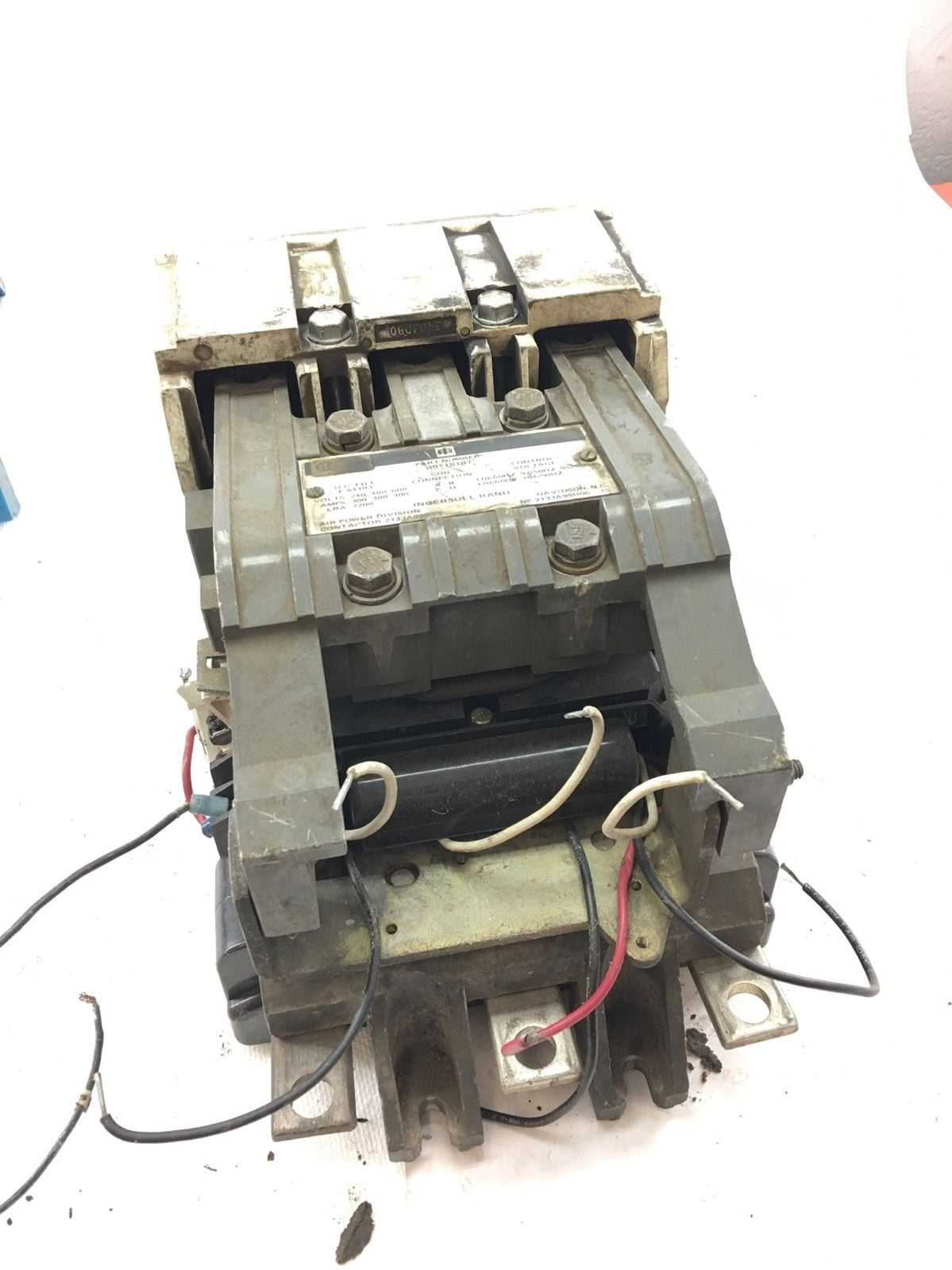 hight resolution of used good condition ingersoll rand 39118187 contactor 300amp starter b368 1