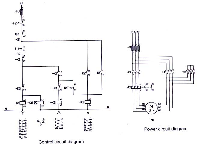 star delta wiring diagram control evolution chart man question about circuit plcs net i hope you understand my dilemma