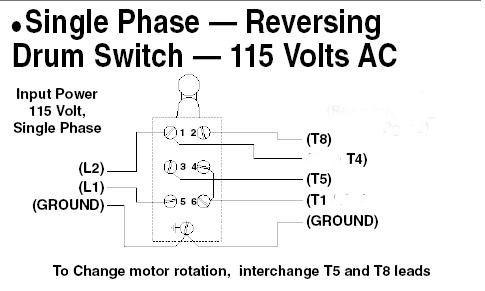 sotreversing a single phase motor  plcs