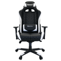 Gaming Computers Chairs Sears High Baby Battlebull Crosshair Chair Black White Bb 623174