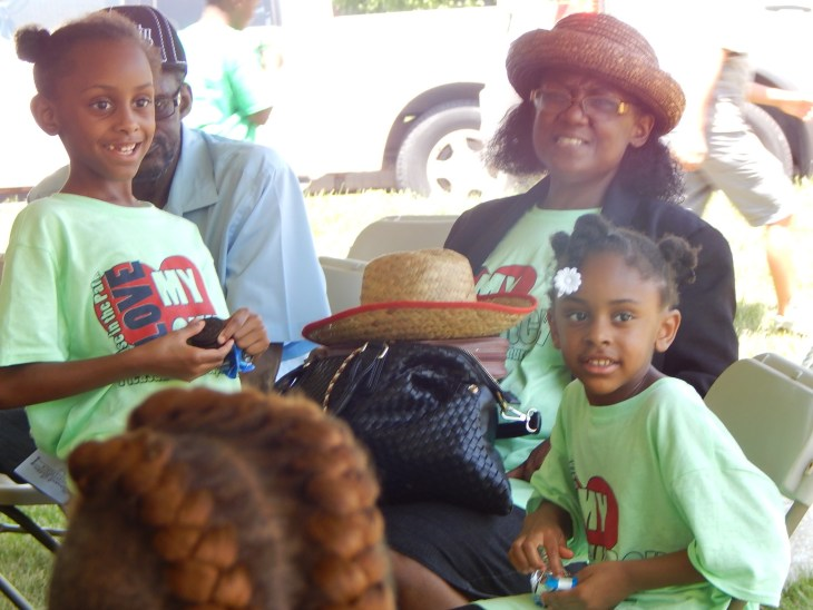 Cheryl Ownens and Family at Praise in the Park