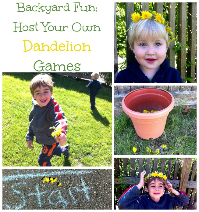 Dandelion Games: active fun in your backyard!