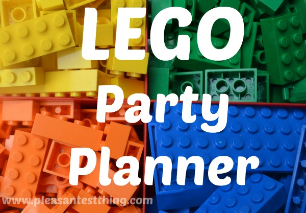 LEGO Party Planner: Invitation, Games, Decorations, Favors - everything you need for a LEGO party!