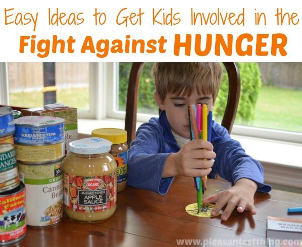 Easy ideas to get kids involved in the fight against hunger
