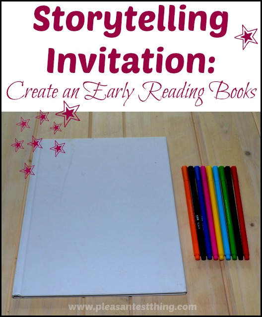 Storytelling Invitation: the simplest form of bookmaking
