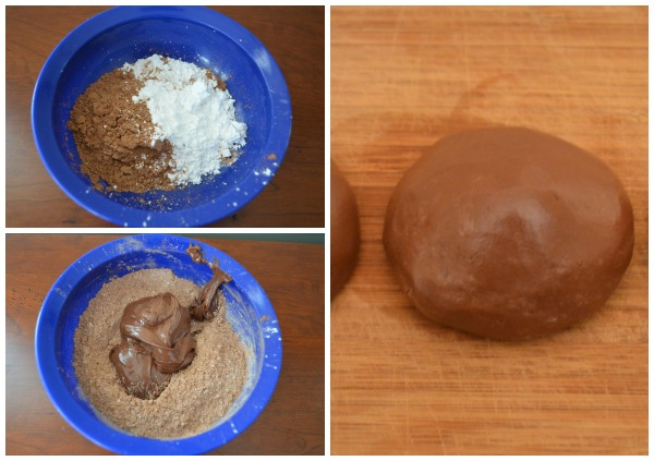 Recipe for yummy edible Nutella playdough!