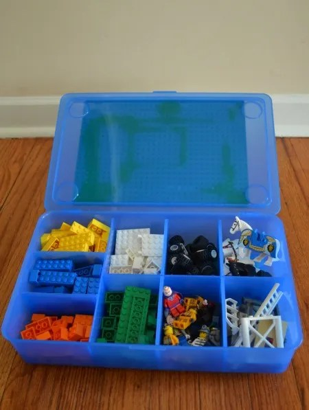 Super easy make your own Lego Travel Case for $10!