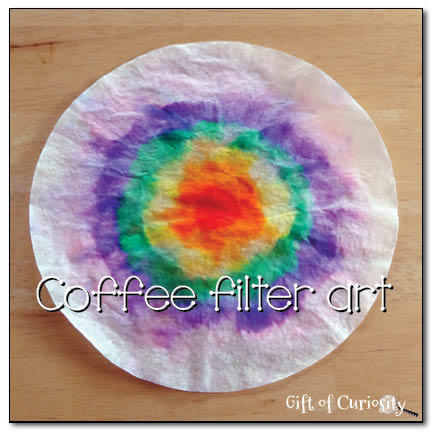 Coffee filter art || Gift of Curiosity
