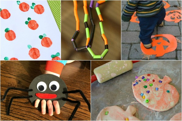 Playful Halloween ideas for toddlers. Games, crafts and activities your toddler will love!