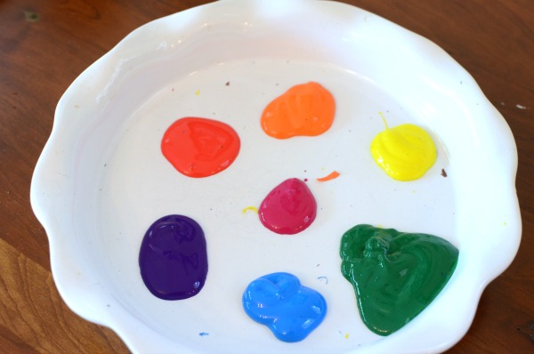 rainbow paint colors