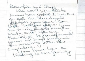 Pleasant Valley Care Home Testimonial 9
