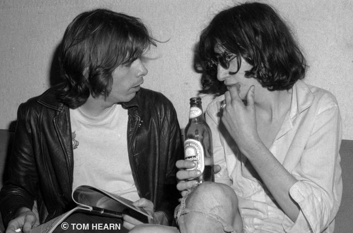 Legs McNeil & Joey Ramone 1978 - ©Tom Hearn