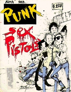 Punk Magazine #8 Sex Pistols issue