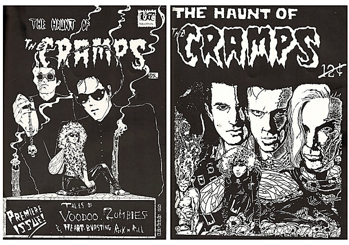 The Cramps comic books.