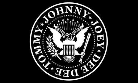 Arturo Vega logo design for The Ramones