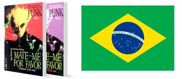 The Portuguese edition of PKM, and the flag of Brazil, where Portuguese is the native language.