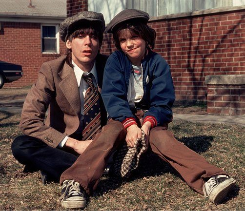 Iggy Pop and his Son - mid-1970's