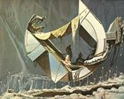 """hzTMfPmJ08R8TCY4OPJbJLy gcT9vfBceCtjdsp24SQ 1978 """"Shipwreck"""" in space   Syd Mead artwork"""