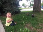 EIWoxM9pIe2 YlvEJjyJqmlo3kdmAY 8tggmass5DXg My daughter is obsessed with ducks, two of them showed up in our front yard.