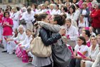 """HuUFMSucKqWByhrrNq0pCyFNUTcupIDQXMsL9UjEWTA Two women kissing in front of an anti gay marriage rally in Marseille, France, in 2012. After it went viral, the picture was named """"The Kiss from Marseille""""."""