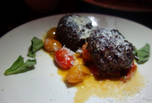 Grilled House Ground Meatballs