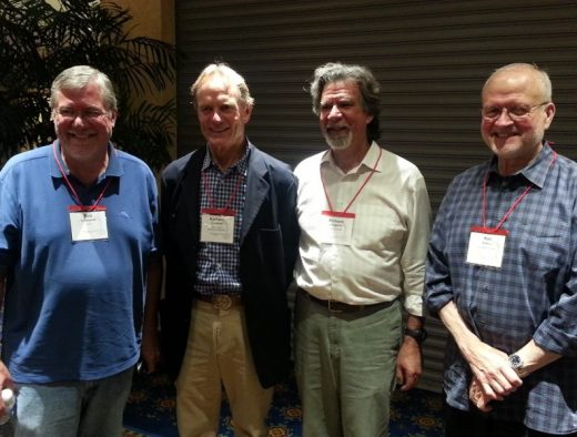 Bob Lindquist, Richard Sanford, Rick Longoria, Ken Brown
