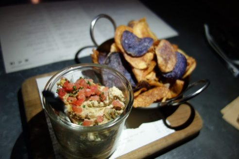 Roasted Artichoke and Crap Dip