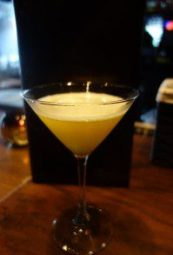 Under The Tuscan Sun (carrot-saffron vodka, honey sour, lemon sorbetto) (1)