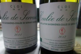 Clos de la Coulee de Serrant 2011 and 2012