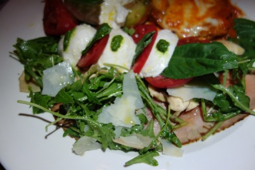Carpaccio and Caprese