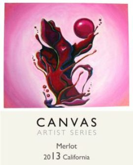 Canvas Wines 2013 Merlot