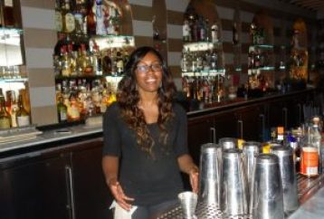 Bar Manager Quiana LaFleur