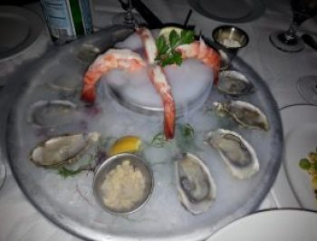 Oysters on the Half Shell and Colossal Shrimp Cocktail