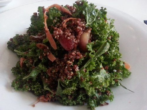 Raw Kale and Carrot Salad