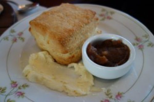Biscuit with Apple Butter