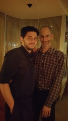 Chef Alex Ageneau and Owner & Sommelier Kevin O'Connor