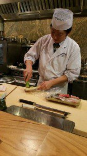 Chef Hide Grates Fresh Wasabi