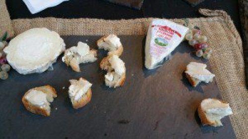 Boucheron and Soignon Goat Brie