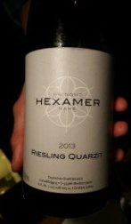 Hexamer 2013 Riesling, Quartzit, Nahe, Germany