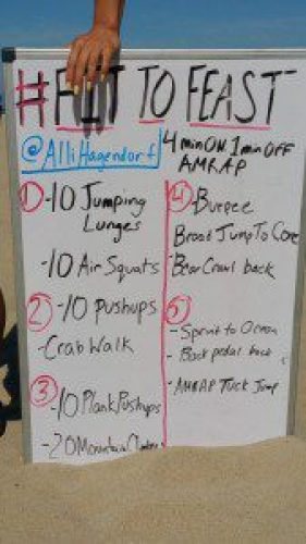 Fit To Feast 20 minute workout