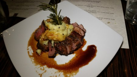 Filet Mignon with Plum Wine Sauce
