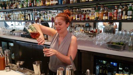Mixologist Clare Ward